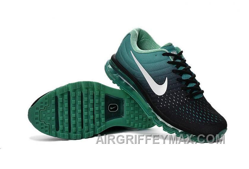innovative design 636d4 2c203 Authentic Nike Air Max 2017 Black Green White Best Zh7Me