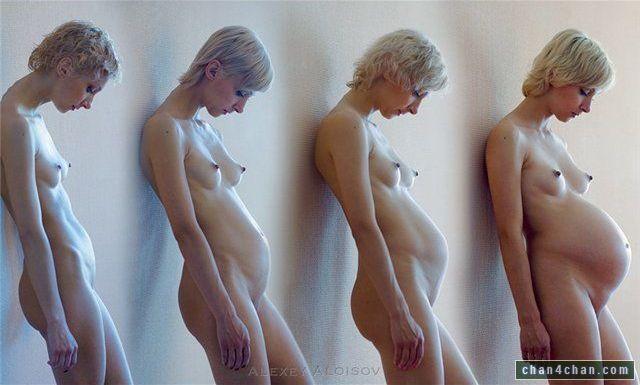 Беременные фото голышом