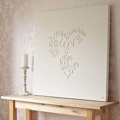 schilderijen met tekst slaapkamer - Google zoeken | veľké obrazy ...