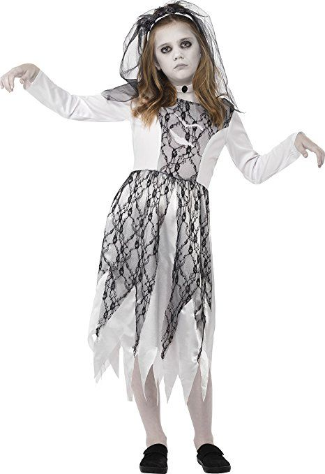 Smiffy S 45481l Kinder Madchen Geisterbraut Kostum Kleid