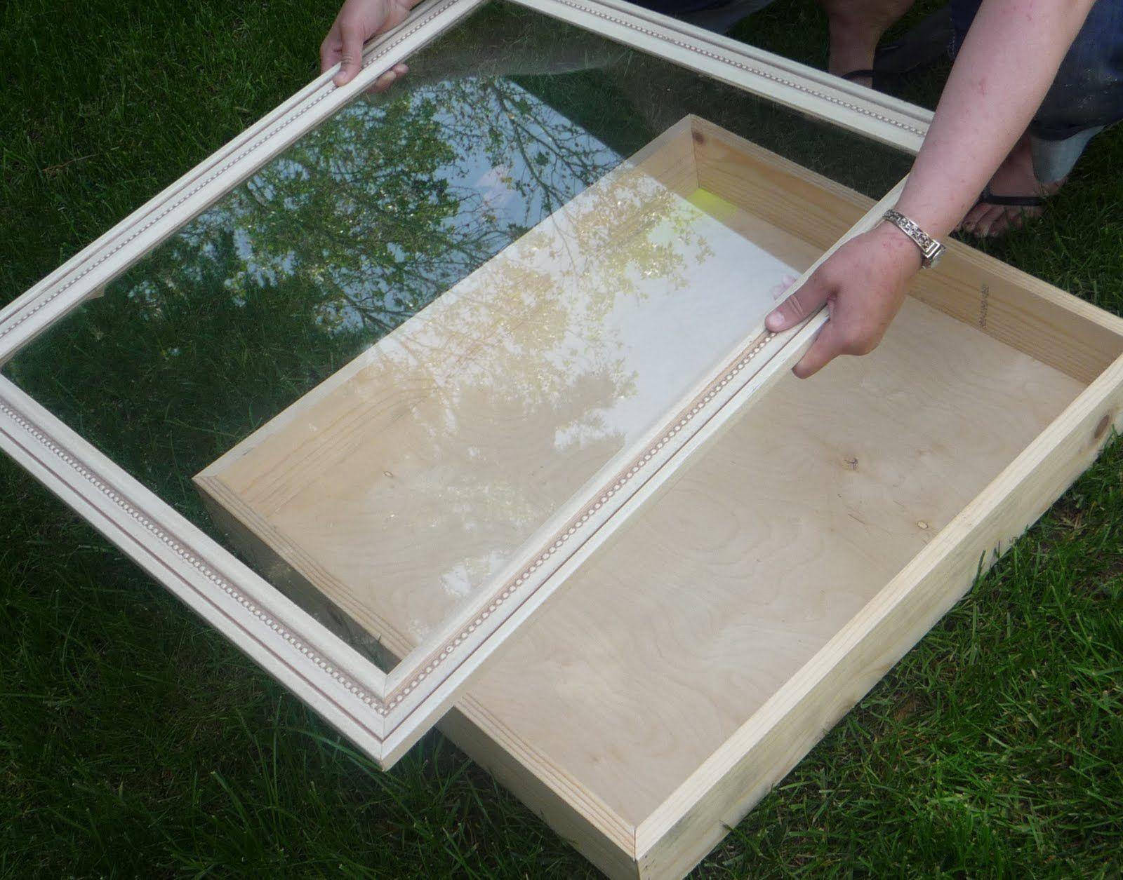DIY Shadow Box...hmm can I get shatter proof glass and
