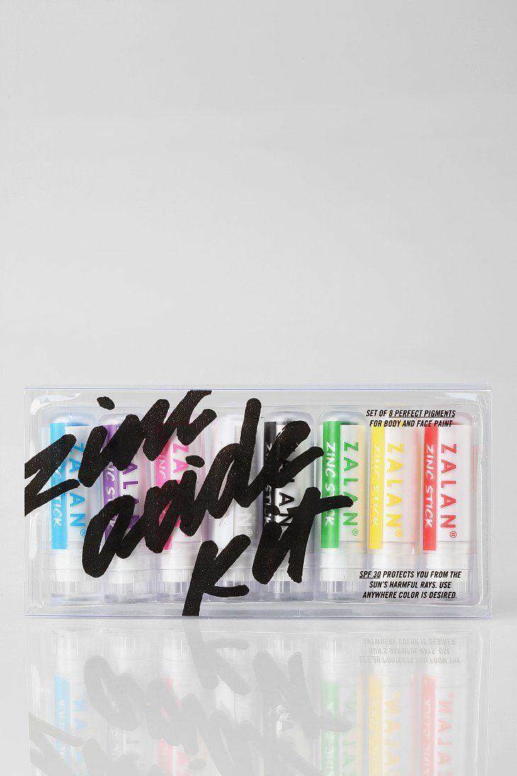 Zalan Zinc Stick Sunscreen Kit Gd Packaging Sunscreen