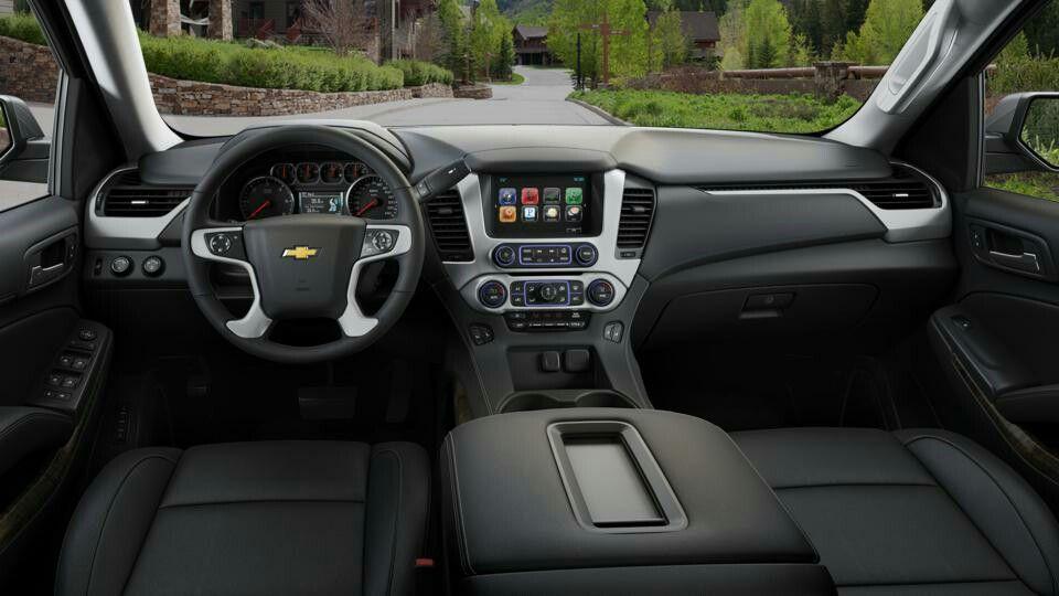 2016 Chevy Suburban Front Interior