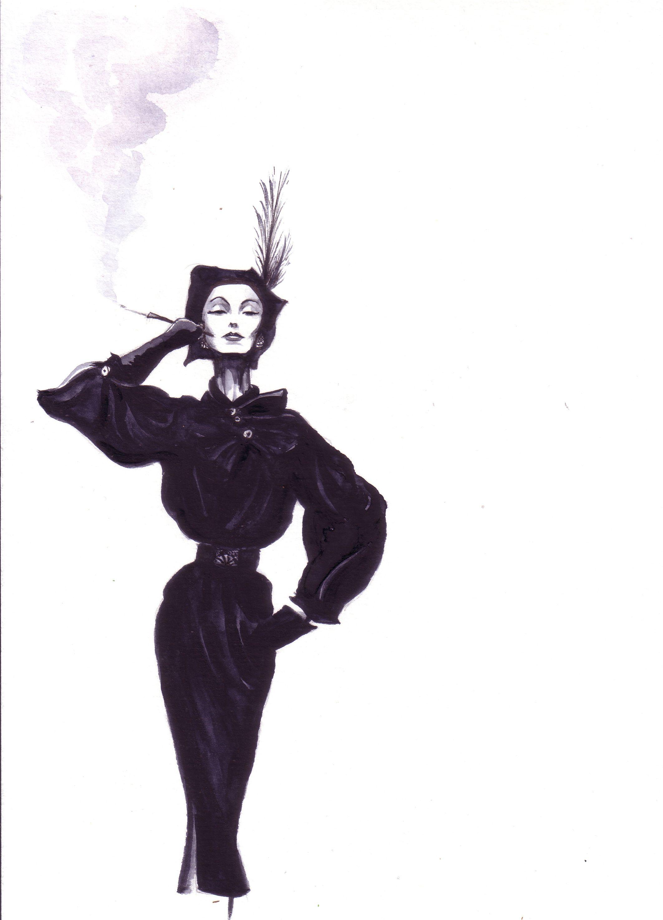 Antonio lopez fashion illustrations 78