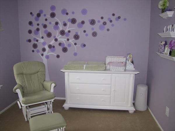 Purple And Green Nursery Ideas Home Design And Interior Decorating Ideas