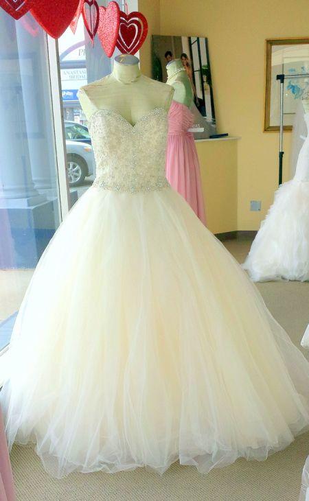 wedding dresses delaware pronovias mada bridal gown | Wedding ...