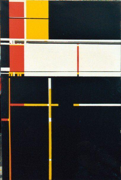 Pierre Windorf (Ducellier) « European night theme », hst, 1979, 195 x 130 cm via online art museum