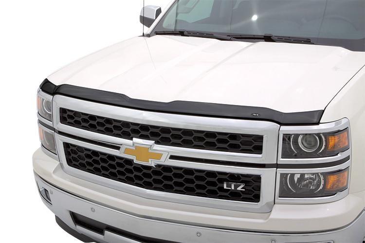 Avs Aeroskin Smoke Flush Mount Hood Protector For 2019 2020 Gmc Sierra 1500 322167 In 2020 Gmc Accessories Chevrolet Accessories Hood