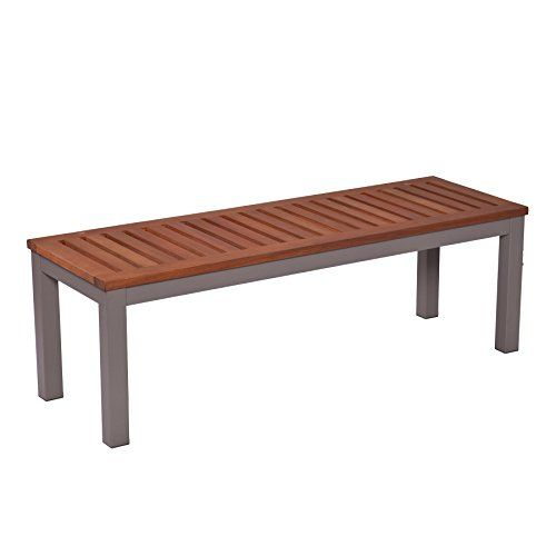 Outdoor Storage Benches Mandalay Outdoor Backless Bench Gray You Can Find More Details By Visit Patio Furniture Deals Outdoor Backless Bench Patio Benches