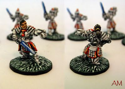 Painting Agency: Flashing Storm of Blades | 15mm miniatures | Blade
