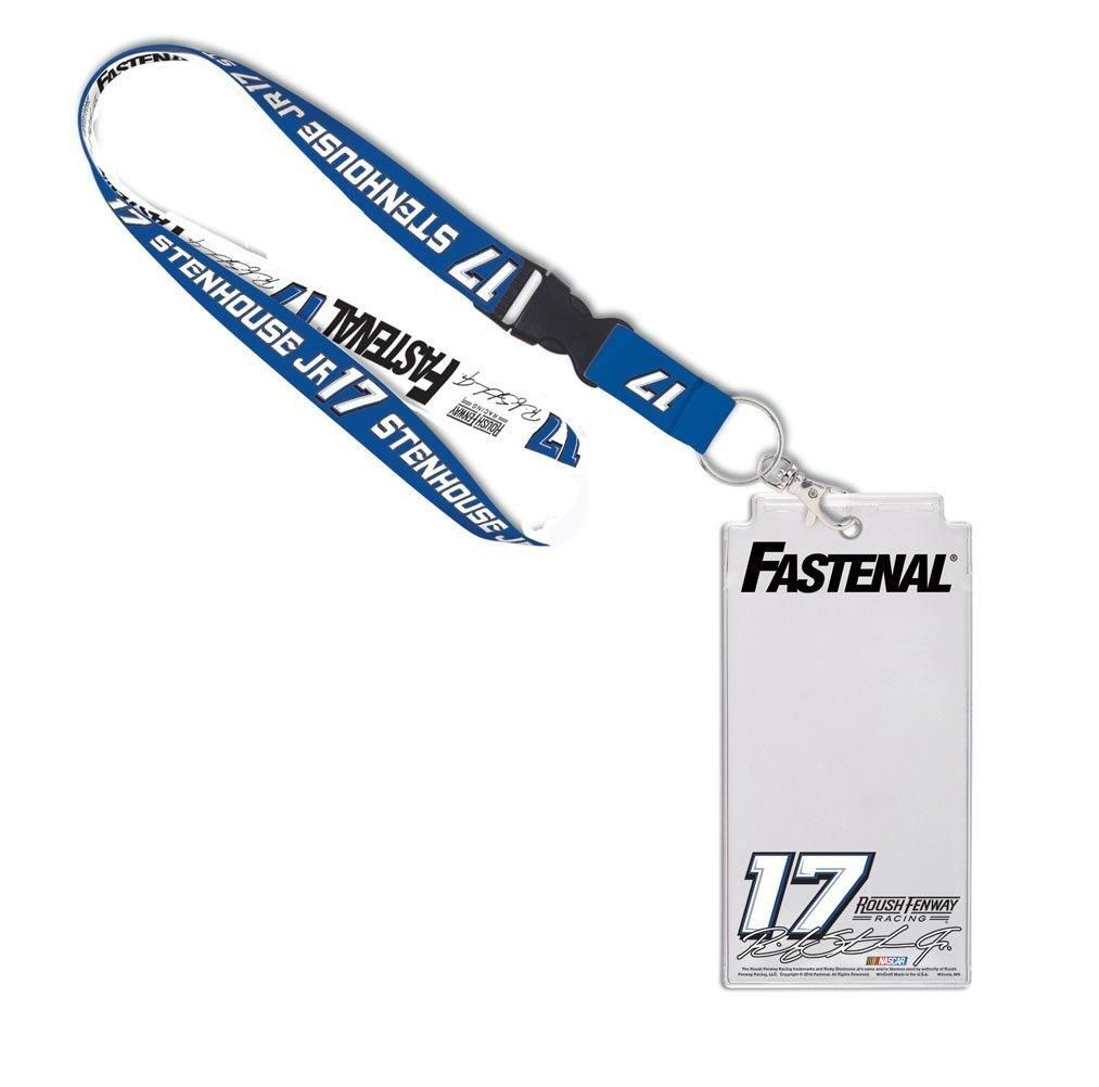 NASCAR Ricky Stenhouse Jr. Fastenal Credential Holder w/Lanyard