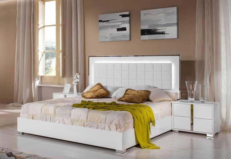 The Modrest San Marino Modern White Bedroom Set Review ...