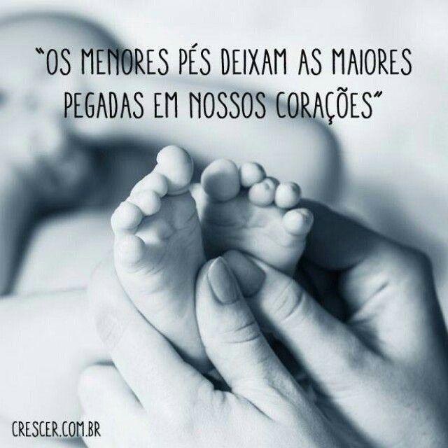 Ai Esses Pezinhos De Bebês Ser Mãe é Frases Mãe E Mensagens