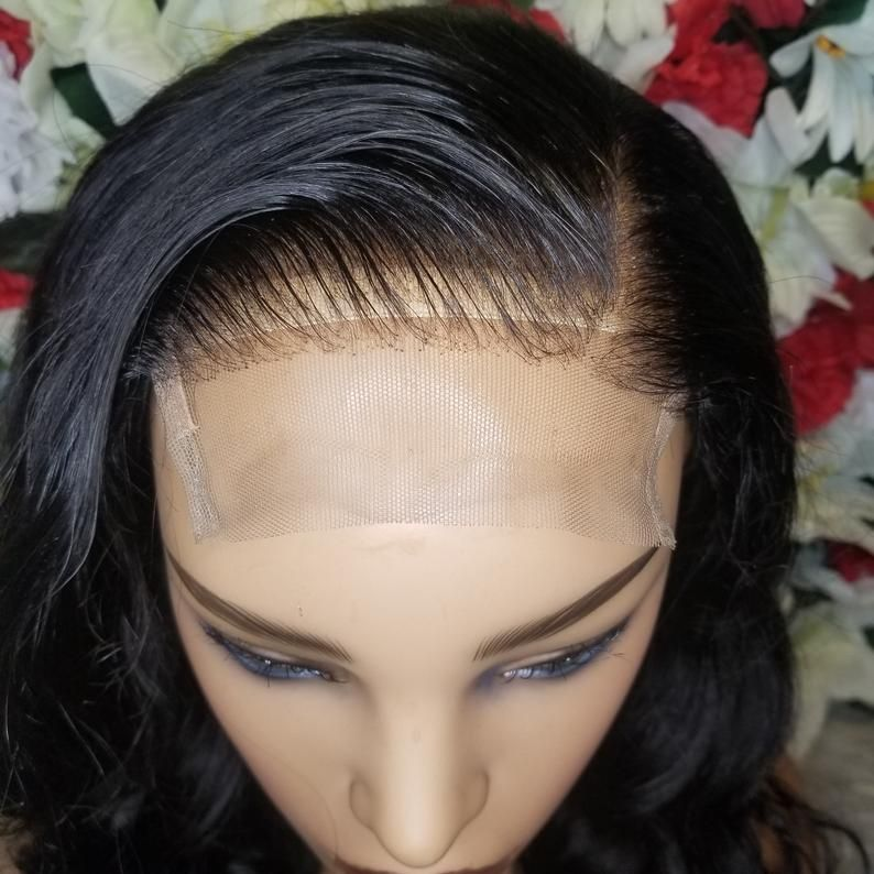 20in loose wave closure wig custom unit etsy in 2020