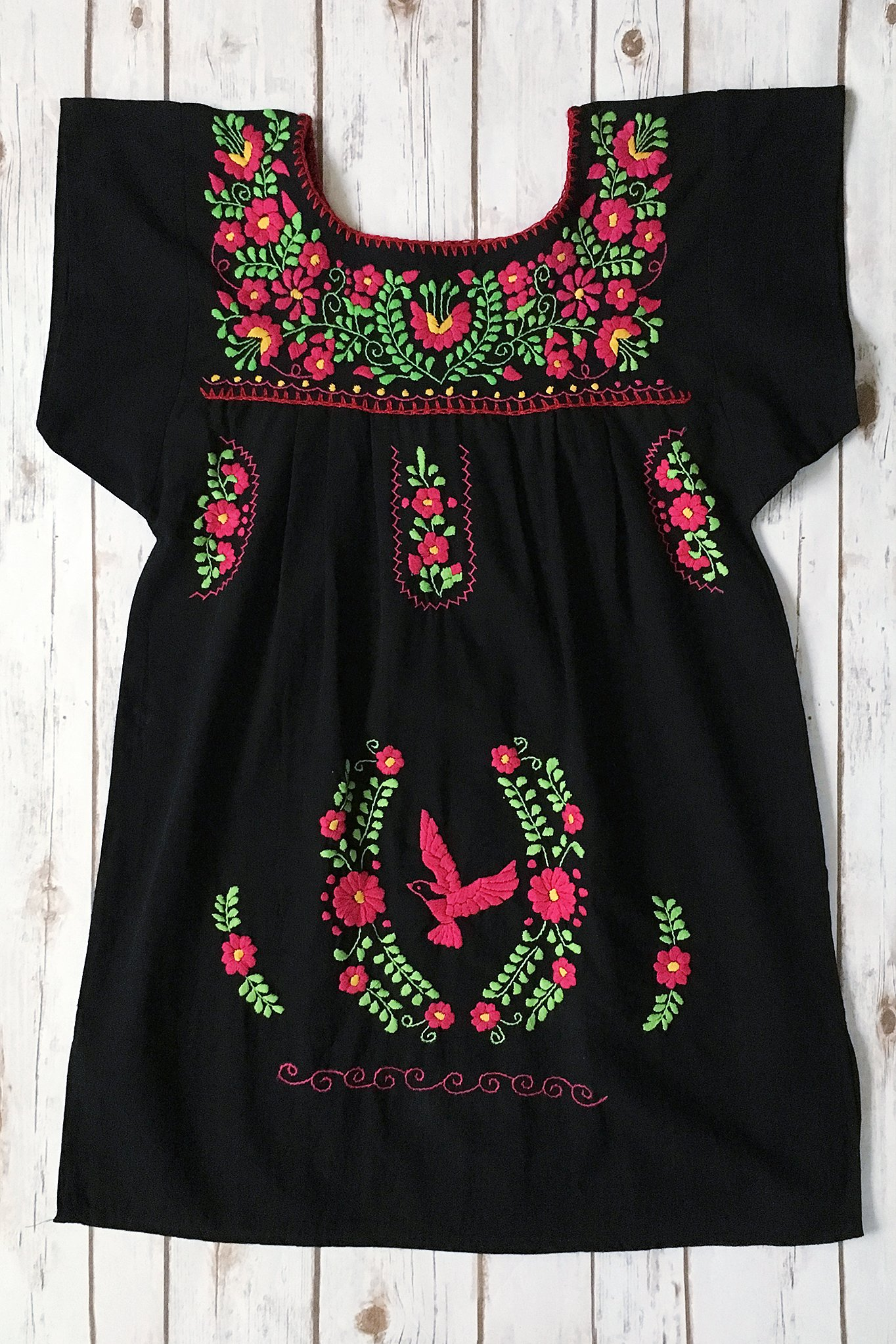Belted Mexican Dress