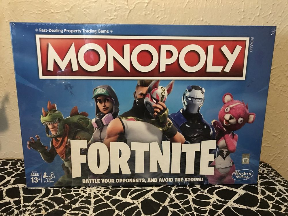 Fortnite Monopoly Board Game Brand New In Hand And Ready To Ship