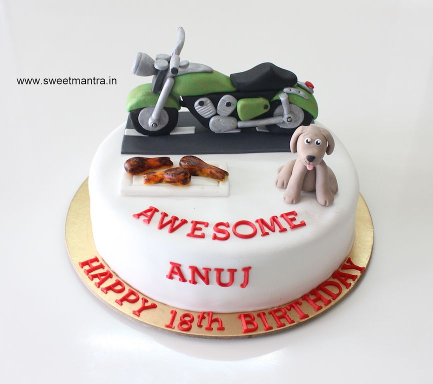 Bullet Royal Enfield bike theme small customized designer birthday