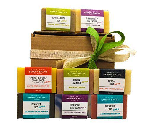 Chagrin Valley Soap Salve Organic Soap Sampler Gift Set