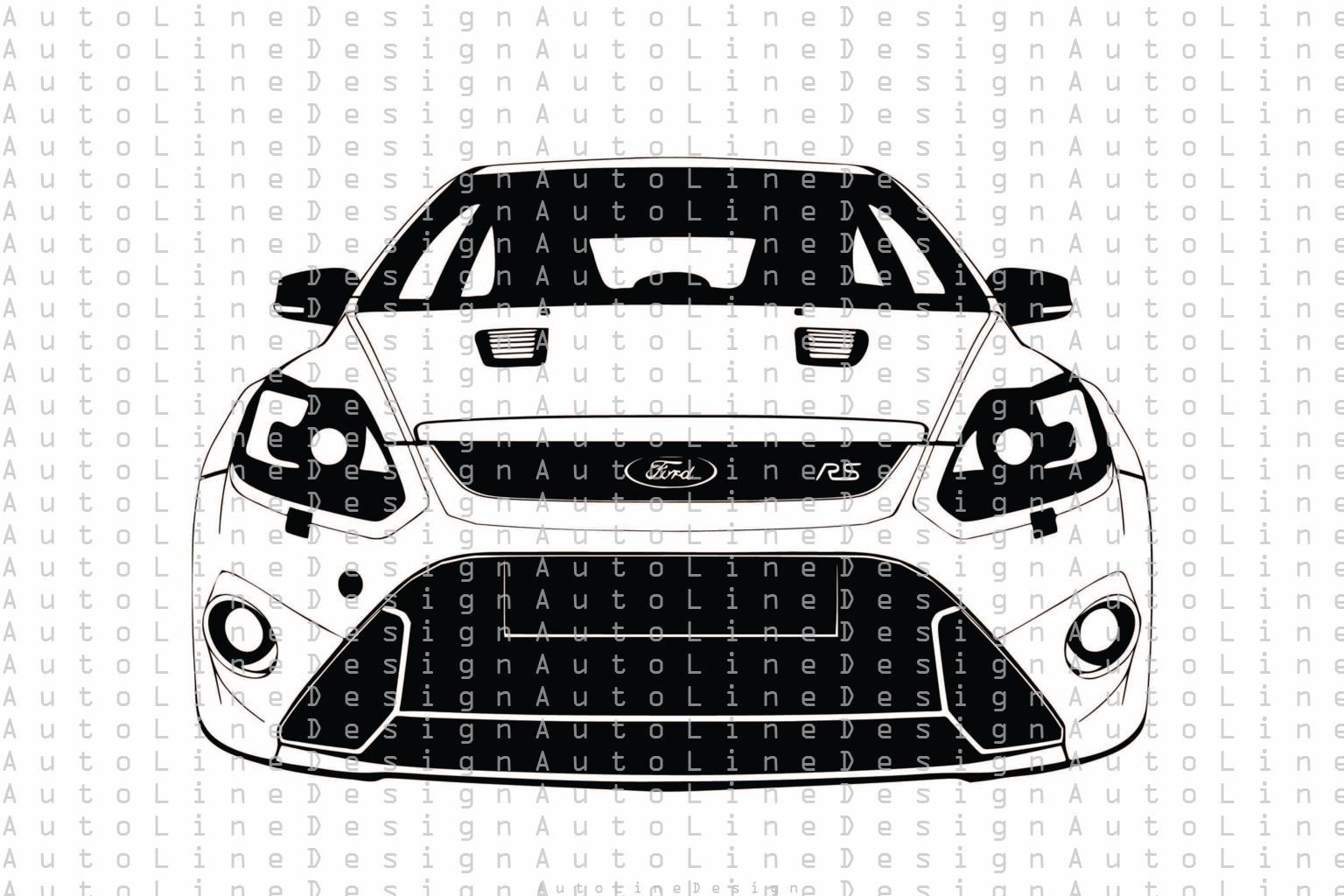 Ford Focus Rs Gen 2 Rally Racing Drift Drag Svg Pdf Dxf Eps Png Illustration Car Vector Automotive Stencil Graphic Art Instant Download In 2021 Ford Focus Ford Focus Rs Car Vector