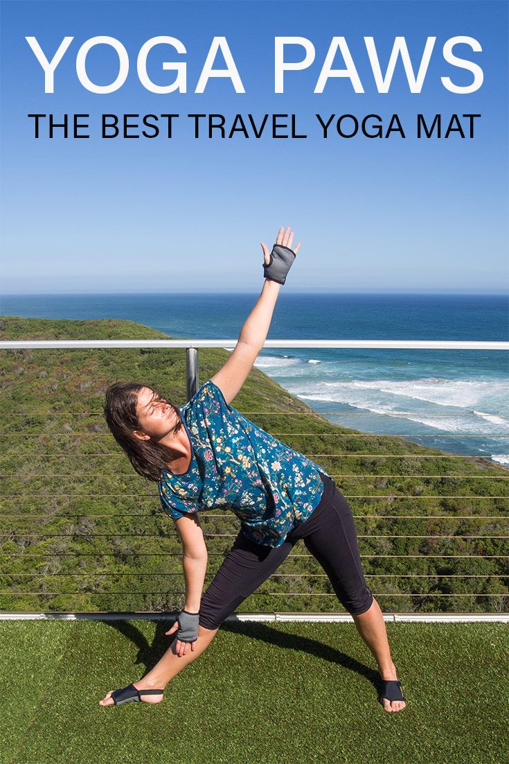 Yoga Paws Review The Best Travel Yoga Mat Travel Yoga Mat Travel Workout Yoga Paws