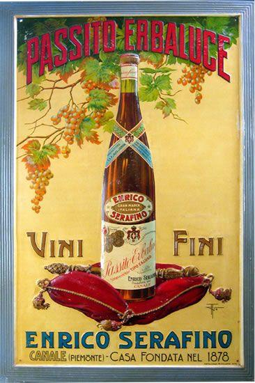 Italian Vintage Wine Poster