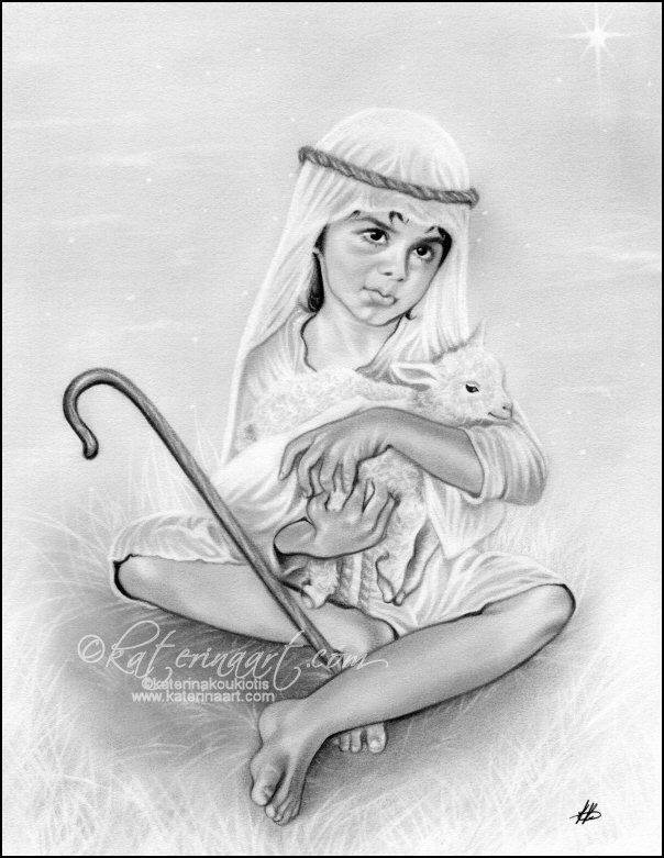 The Little Shepherd Boy, Katerina Art ,Fantasy and Portraiture art ...