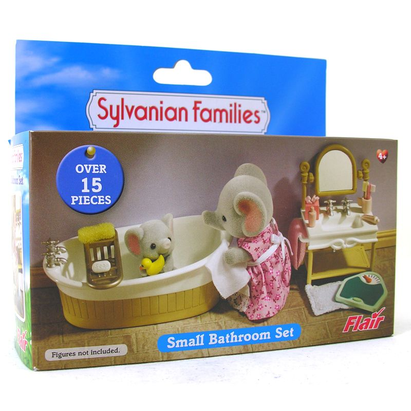 Small Bath Set Sylvanian Families With Images Sylvanian Families Small Bath Toy Chest