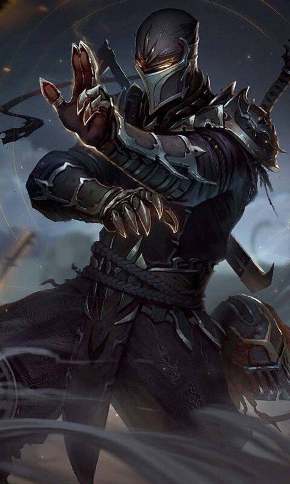 Shadow Ninja in 2020 | Ninja art, Mortal kombat art ...