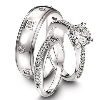 Wedding Rings Sets For Him And Her.Ring Set Photo Ideas Cool Wedding Rings Wedding Rings Wedding
