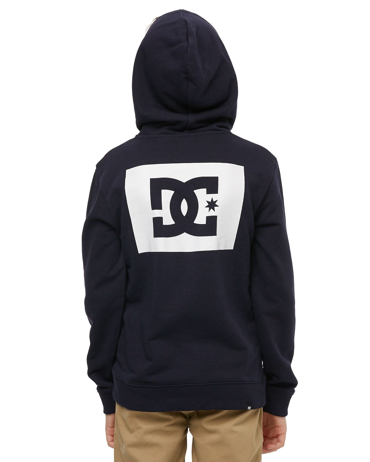 a1a18d23d4 Dc Shoes Kids Boys Stage Box Hoody - Dark Indigo