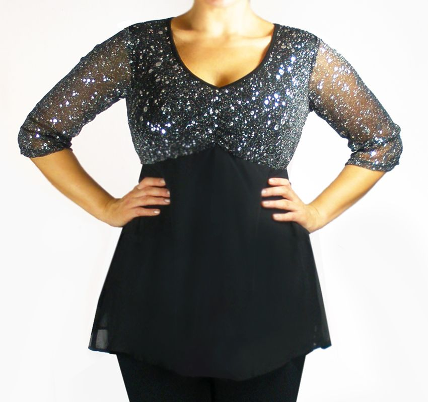 dress tops plus size - gaussianblur