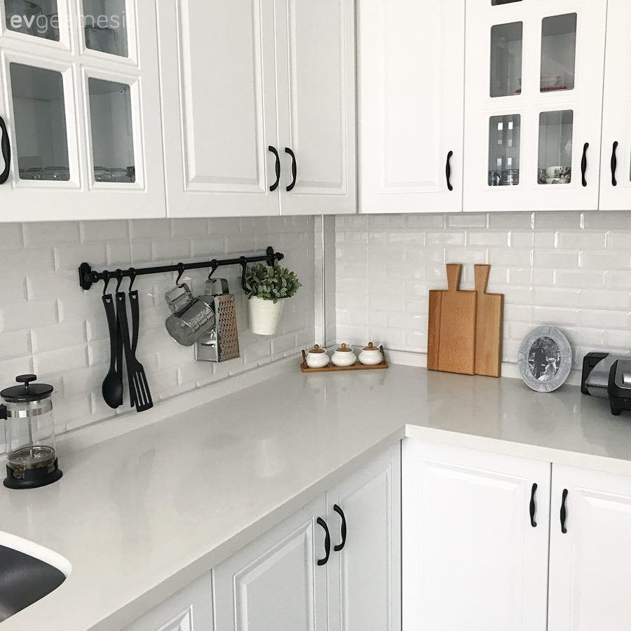 Beyaz Mutfak Dolapları, 1000+ Beyaz Mutfak Modeli – 4