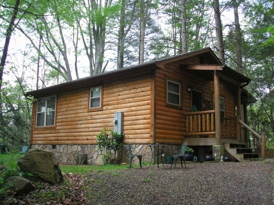 Near Gatlinburg Private Cabin On Creek Under 100 Tennessee Vacation Floating House Cabin