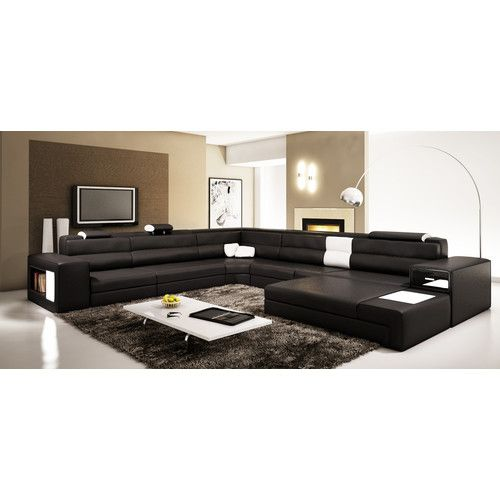 Camden 167 Right Hand Facing Sectional With Ottoman Contemporary Living Room Furniture Sofa Design Living Room Sofa