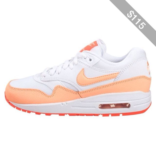 lowest price a871b 0a210 Nike Sportswear AIR MAX 1 ESSENTIAL Trainers sunset glow hot lava