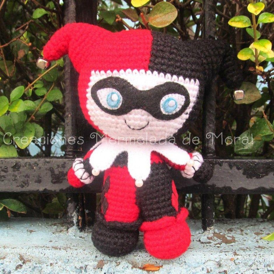 Harley Quinn Amigurumi. | Needlecrafts | Pinterest | Patrones ...
