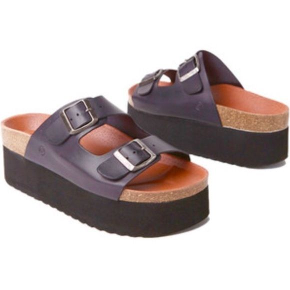 de481dda3eb SIXTYSEVEN Indigo Platform Sandal Super cute and soo 90 s- these sandals  feature an open toe