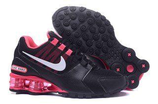 b7b0b03f57b Womens Nike Shox NZ Black Hyper Pink White Athletic Running Shoes Trainers
