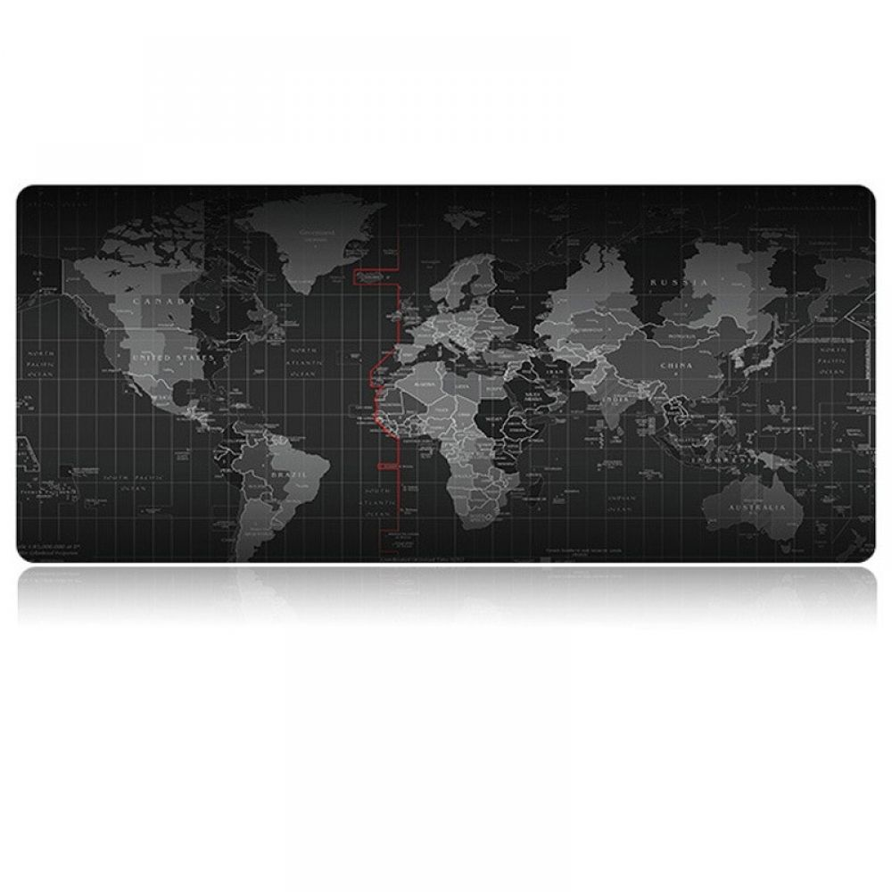 World Map Printed Gaming Mouse Pad Map Print Mouse Pad Mouse