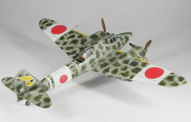 Ki-45 Hasegawa 1/72