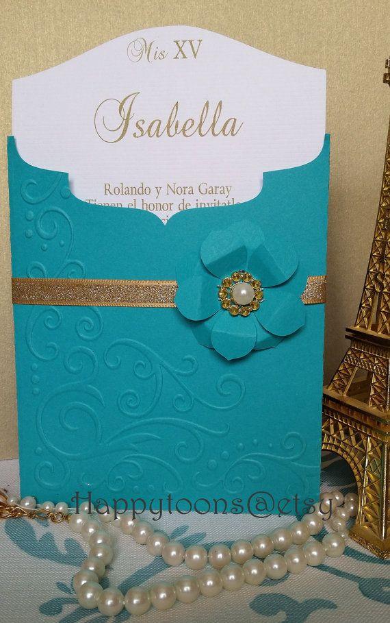 Quinceañera Sweet Sixteen Invitation Invitaciones