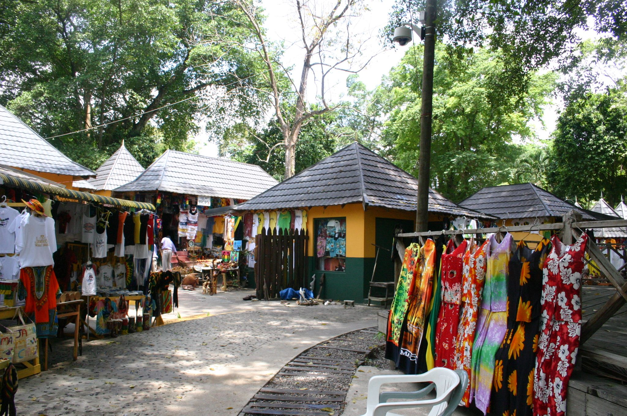Jamaican Market, Ocho Rios, Jamaica Another Stop We Will Be