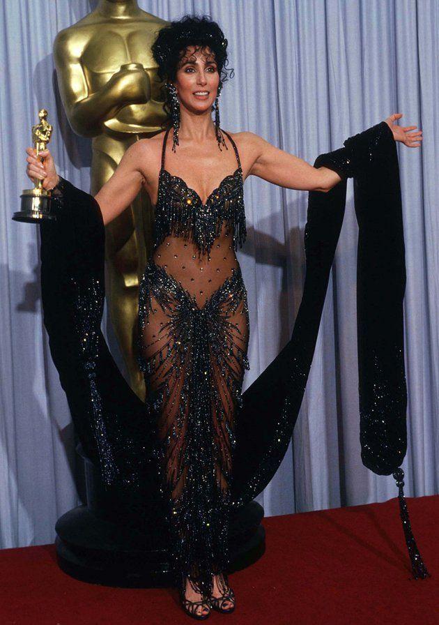 Cher's Oscar Gowns