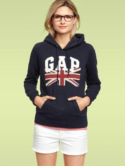 moletom Gap feminino com bandeira Austrália  c10ed7f19d0