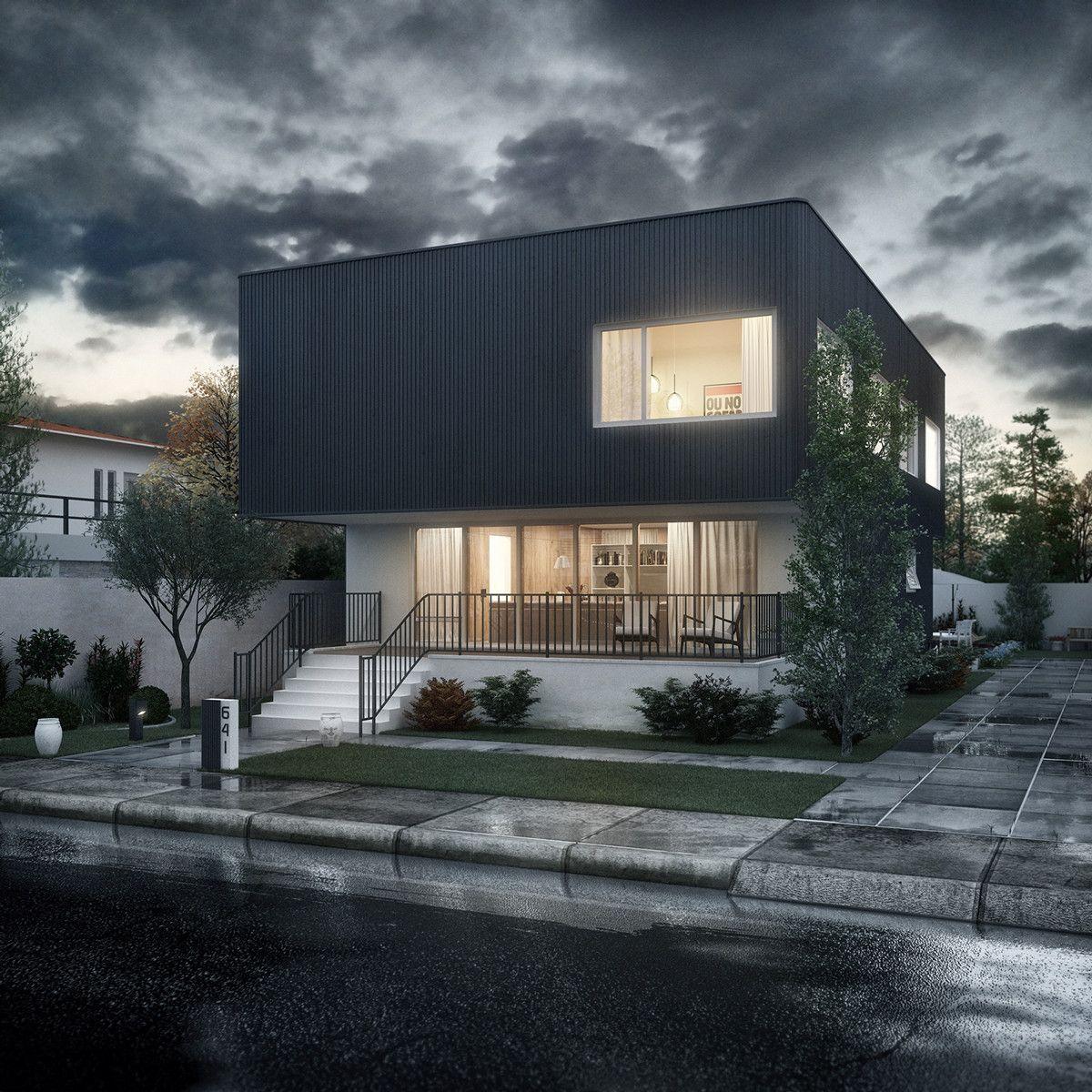Oakley House on Behance