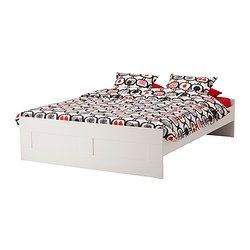 Ikea brimnes struttura letto lur y 160x200 cm le sponde del letto regolabili ti - Sponde letto anziani ikea ...