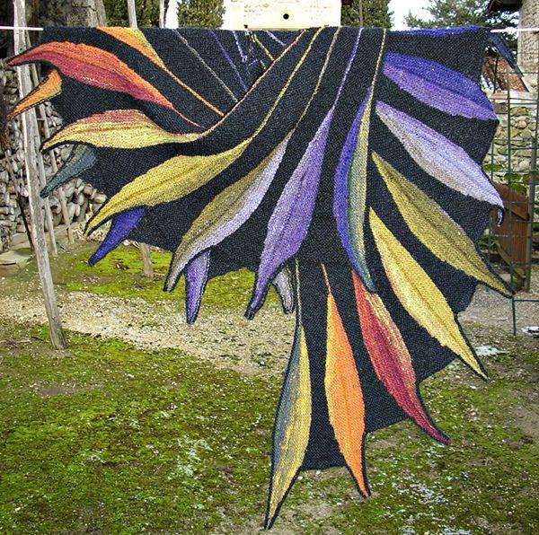 Dreambird KAL pattern by Nadita Swings | Chal, Capa en ganchillo y ...