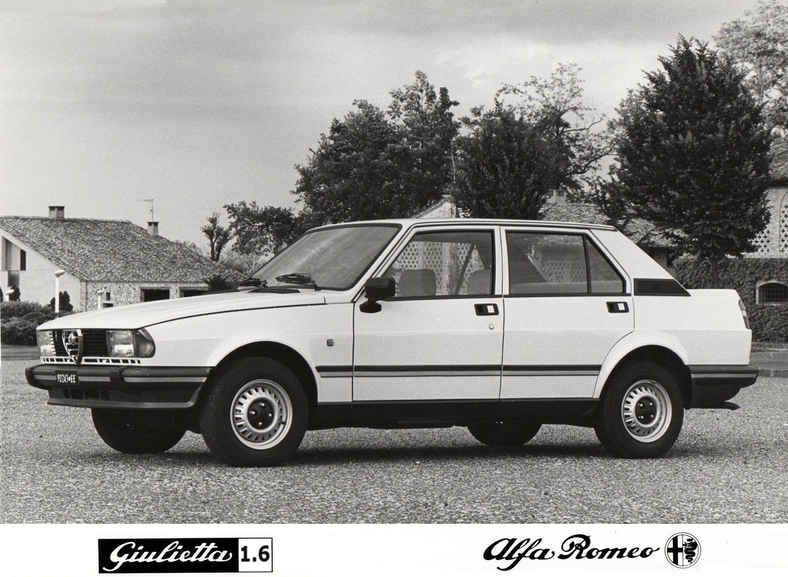 1981 Alfa Romeo Giulietta 1.6 (116) Press Photograph