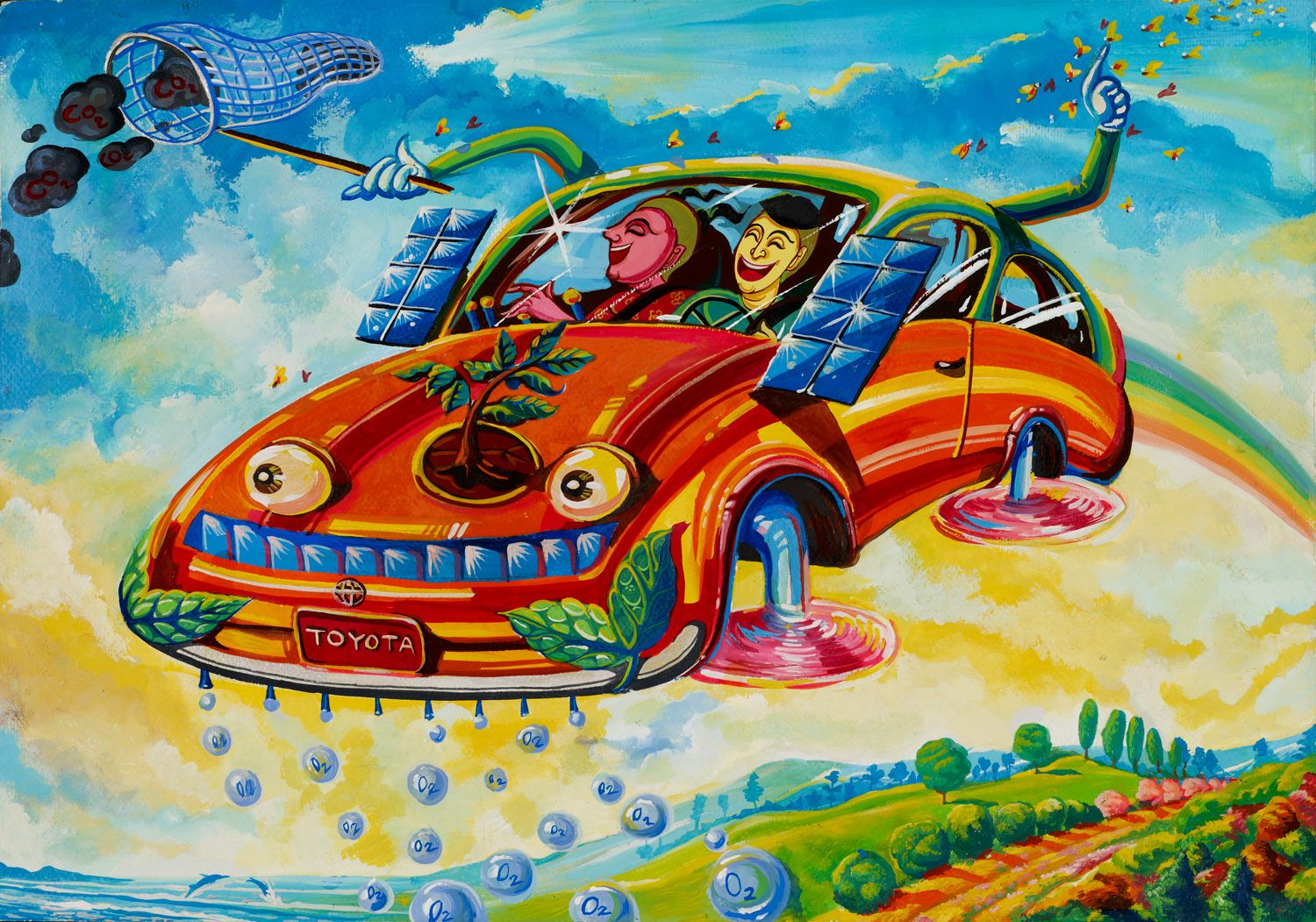 Tfs 7th Annual Dream Car Art Contest Enter To Win Dream Car Art