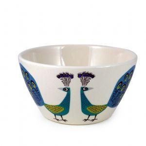 Peacock Bowl | Hannah Turner Ceramics